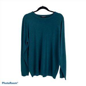 Cedar Wood State Mens Blue Crew Neck Sweater XXL
